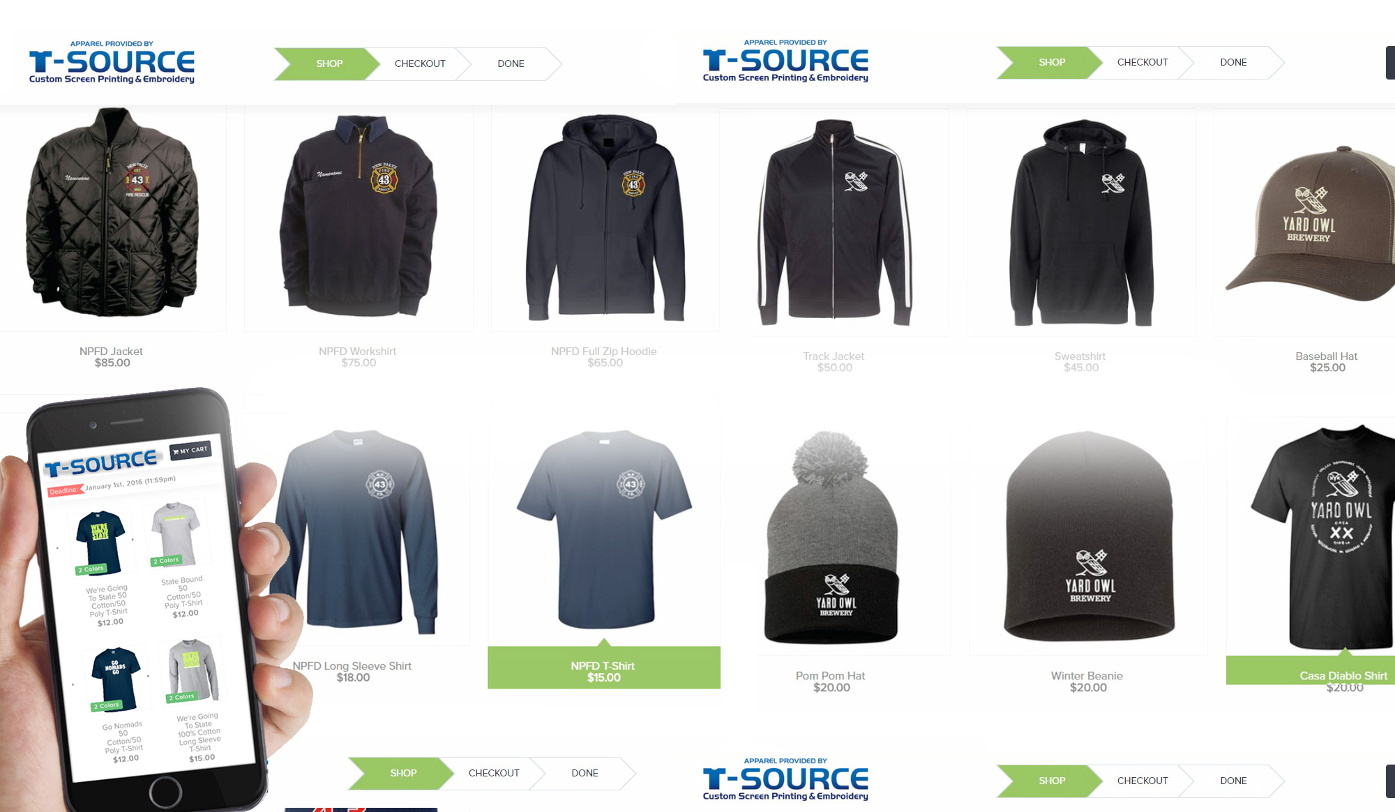 T Source T Source Custom Screen Printing Embroidery
